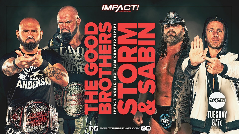 """Impact Wrestling Preview (2/9): World Tag Team Title Defense, Go-Home Show For """"No Surrender"""""""