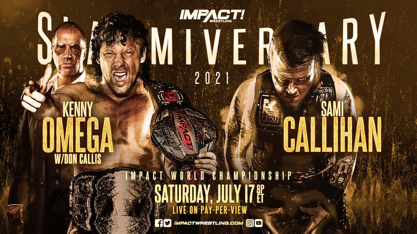 Kenny Omega y Sami Callihan encabezaran este Slammiversary